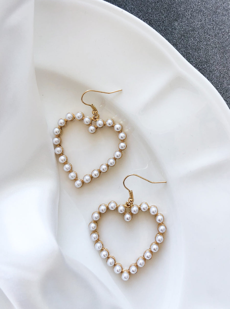 Hearts in it Earrings