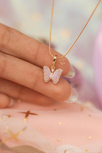 Tala by Kyla BTS Inspired Flutter Butterfly Necklace