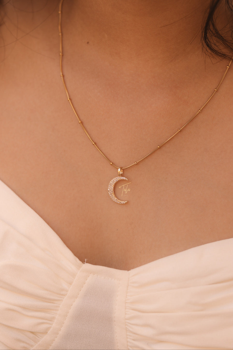 Demi Choker, Lilac Moon Necklace