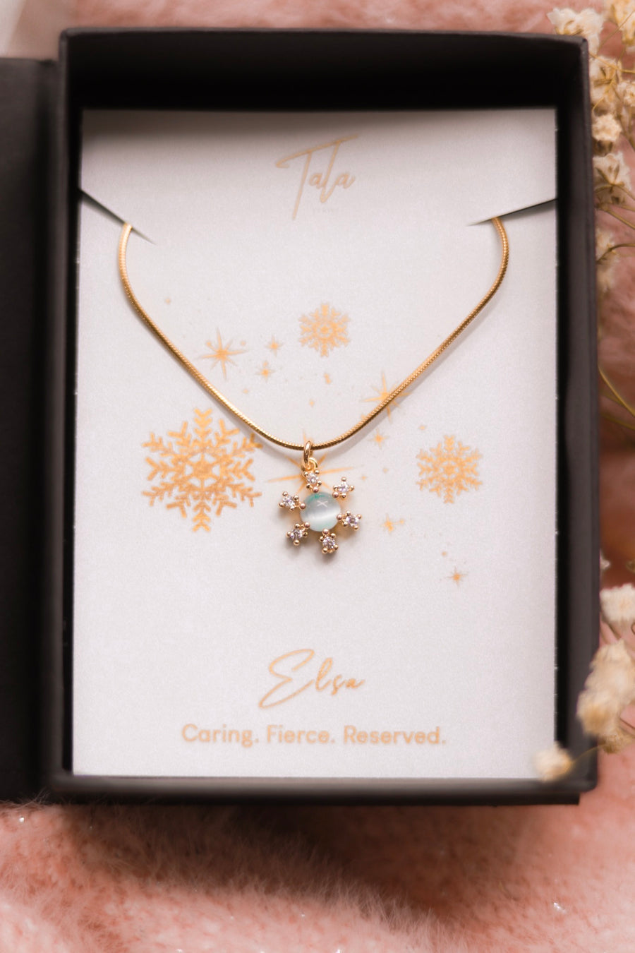 Elsa's Frozen Snowflake Necklace