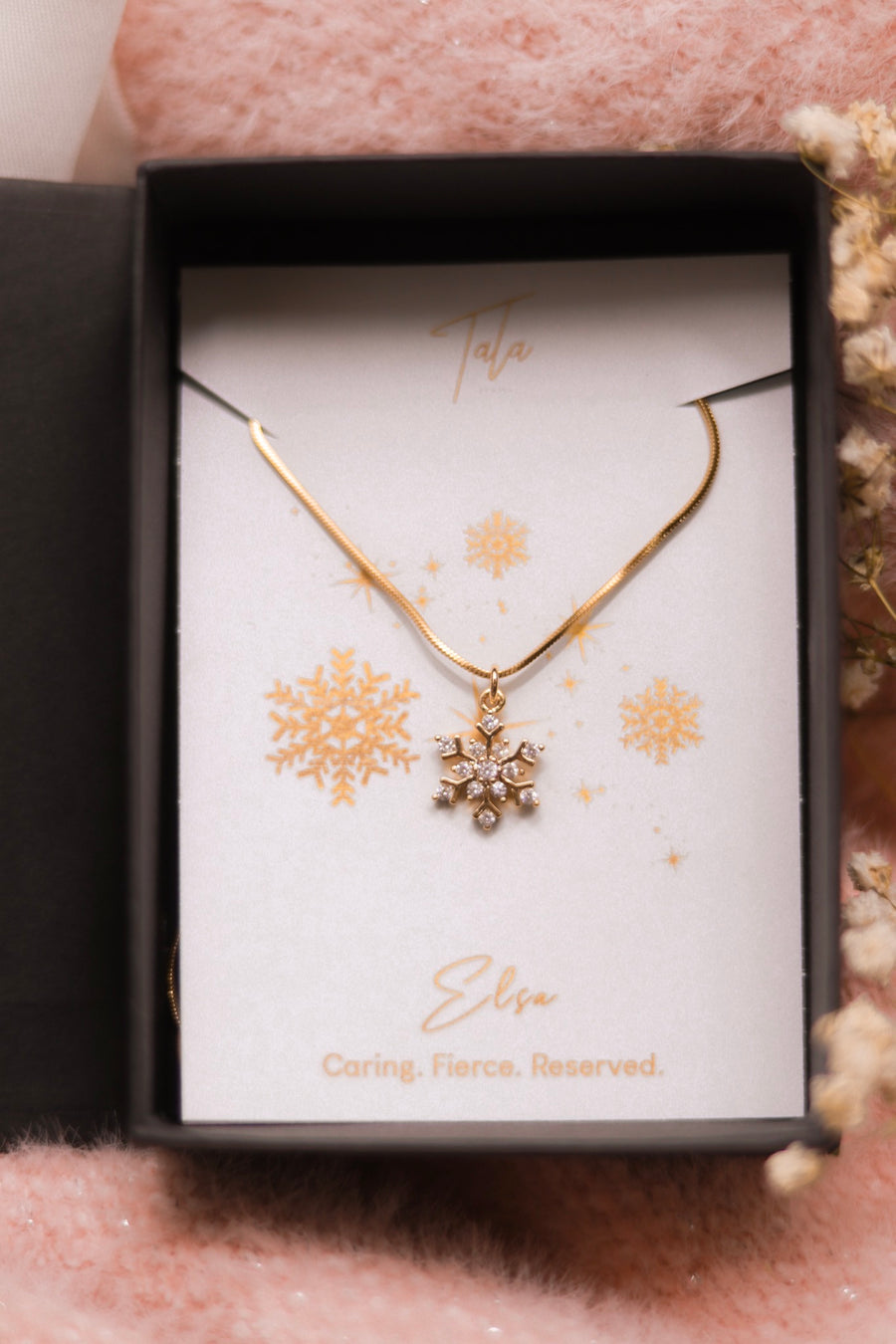 Elsa Snowflake Necklace
