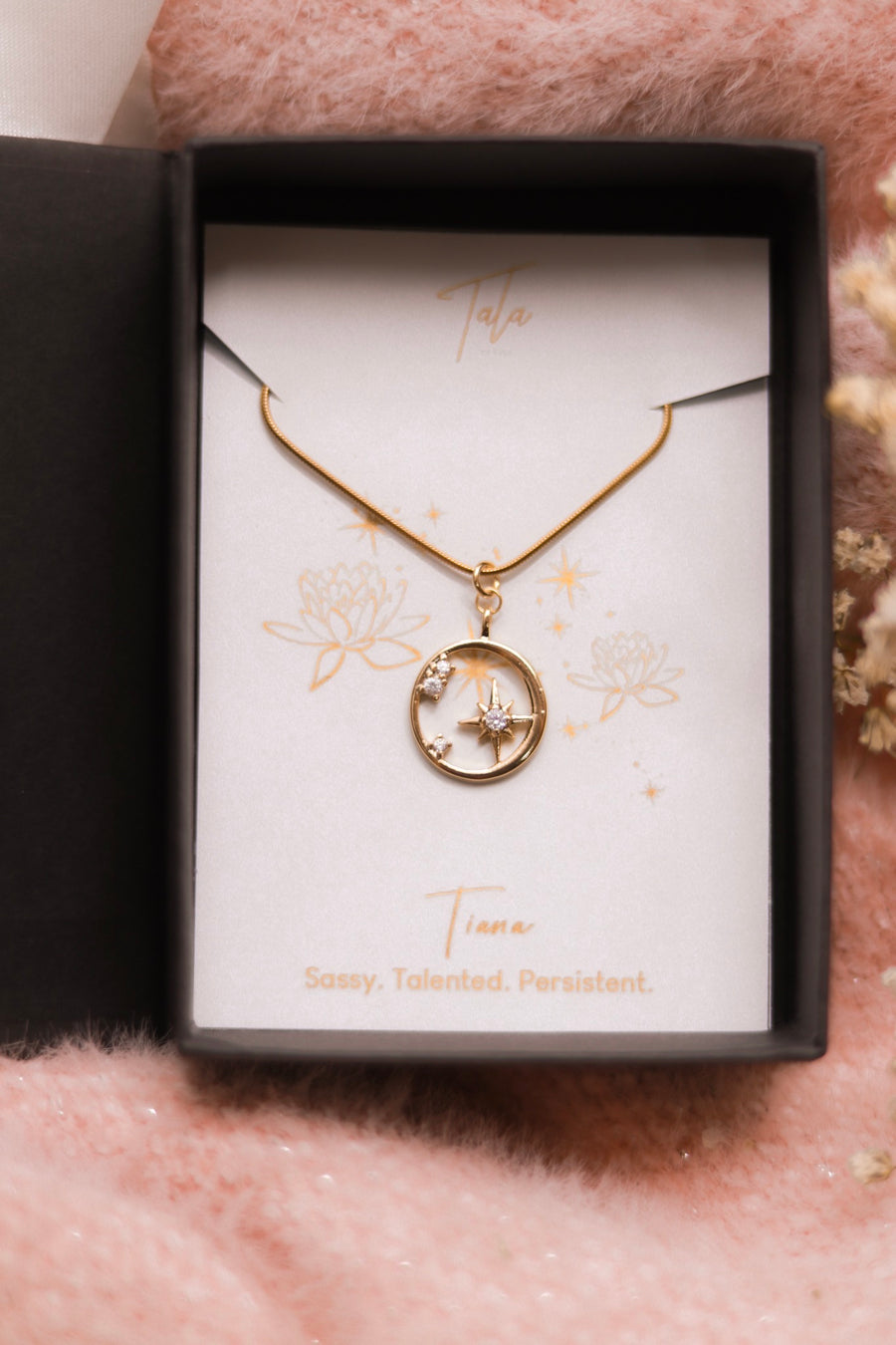 Tiana Crystal Evangeline Necklace