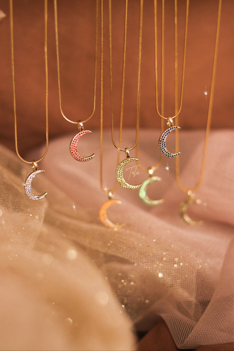 Color Moon Necklace