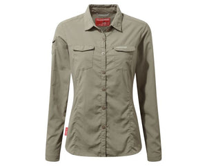 Craghoppers Nosilife Adventure II Long Sleeved Shirt Womens