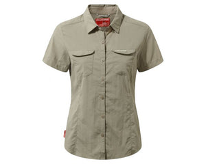 Craghoppers Nosilife Adventure II Short Sleeved Shirt Womens