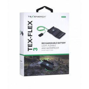 Tex-Energy Tex Flex Flexible Battery 3K MAH