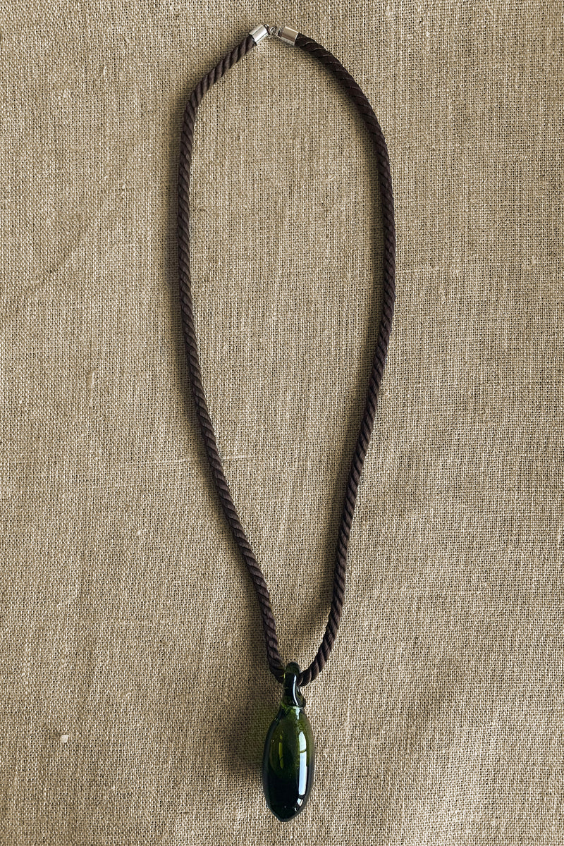 Sisi Joia Gota Necklace in Brown