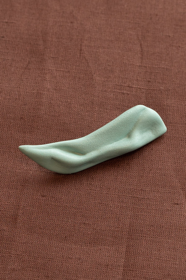Completedworks Green Ceramic Hair Clip