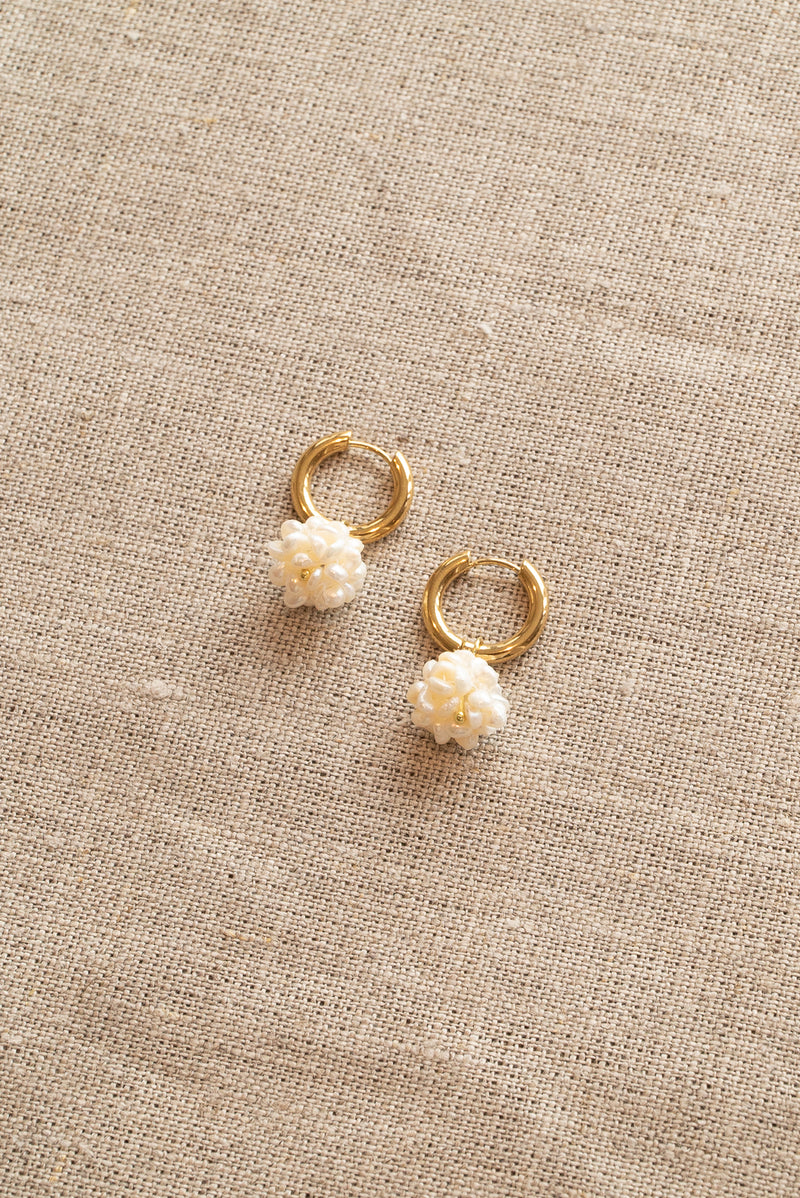 Sandralexandra Flori Pearl Earrings