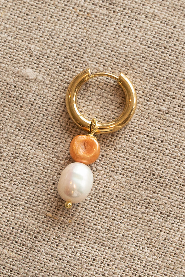 Sandralexandra Bonito Orange Pearl Earring