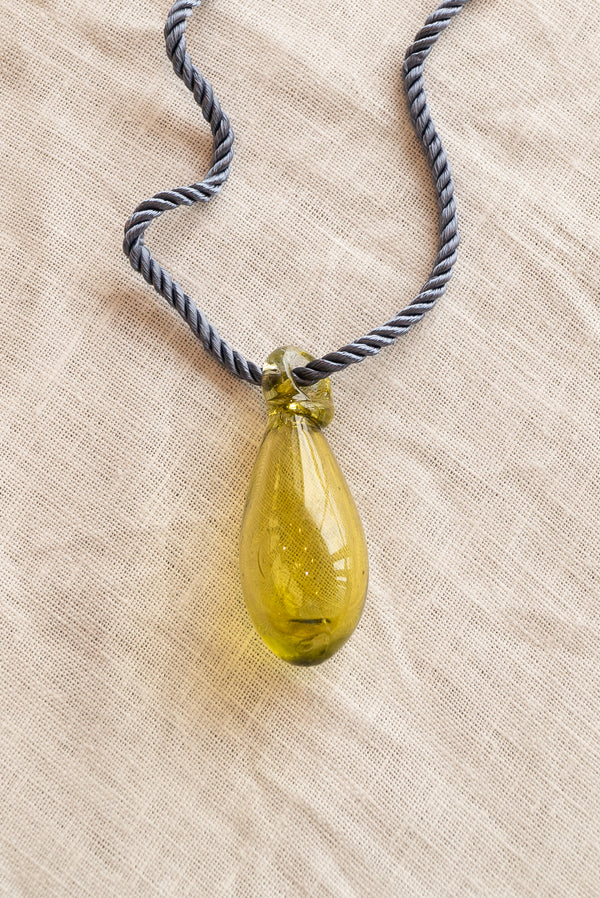 Sisi Joia Gota Yellow Necklace