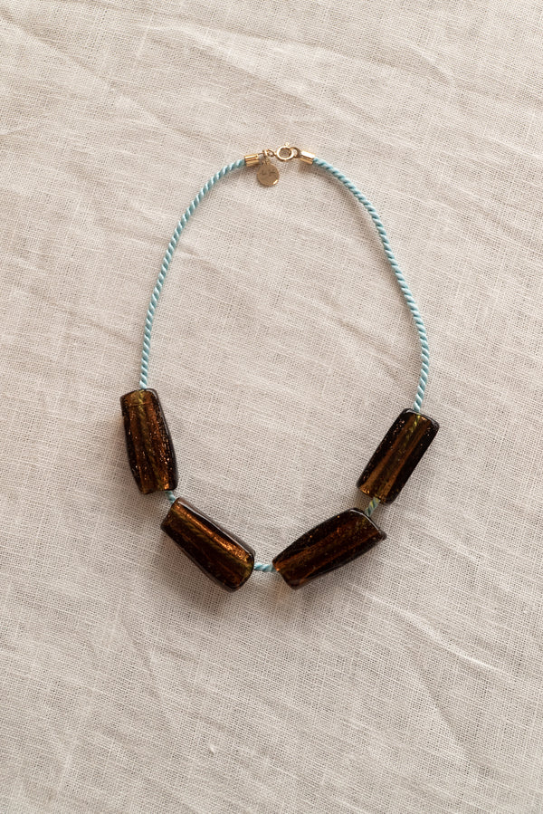 Sisi Joia Gelat Santal Necklace