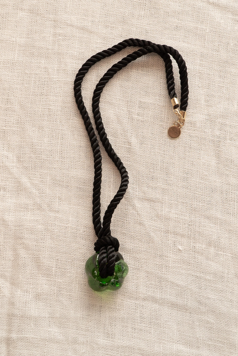 Sisi Joia Green Fleur Necklace