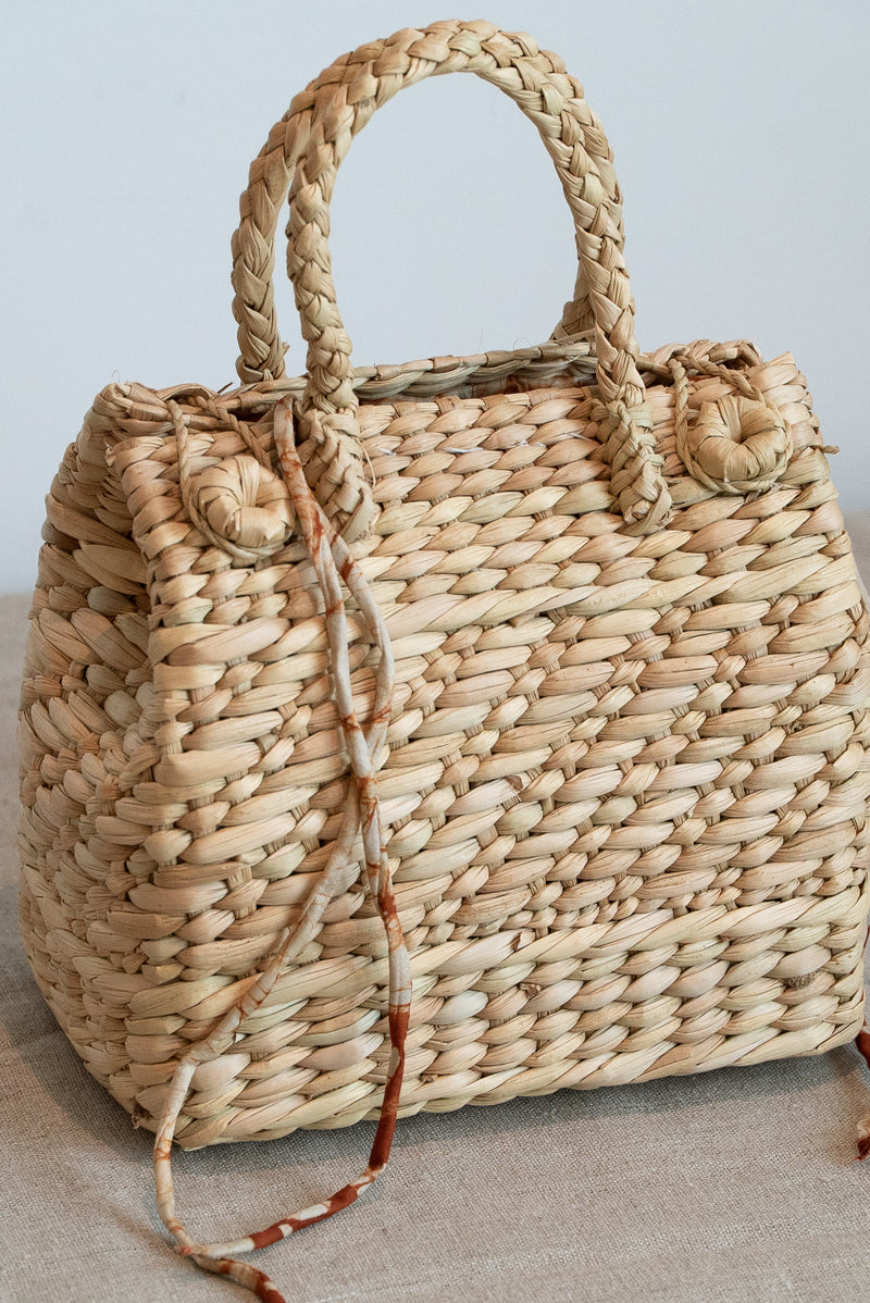 Mehrotra Mini Square Straw Bag