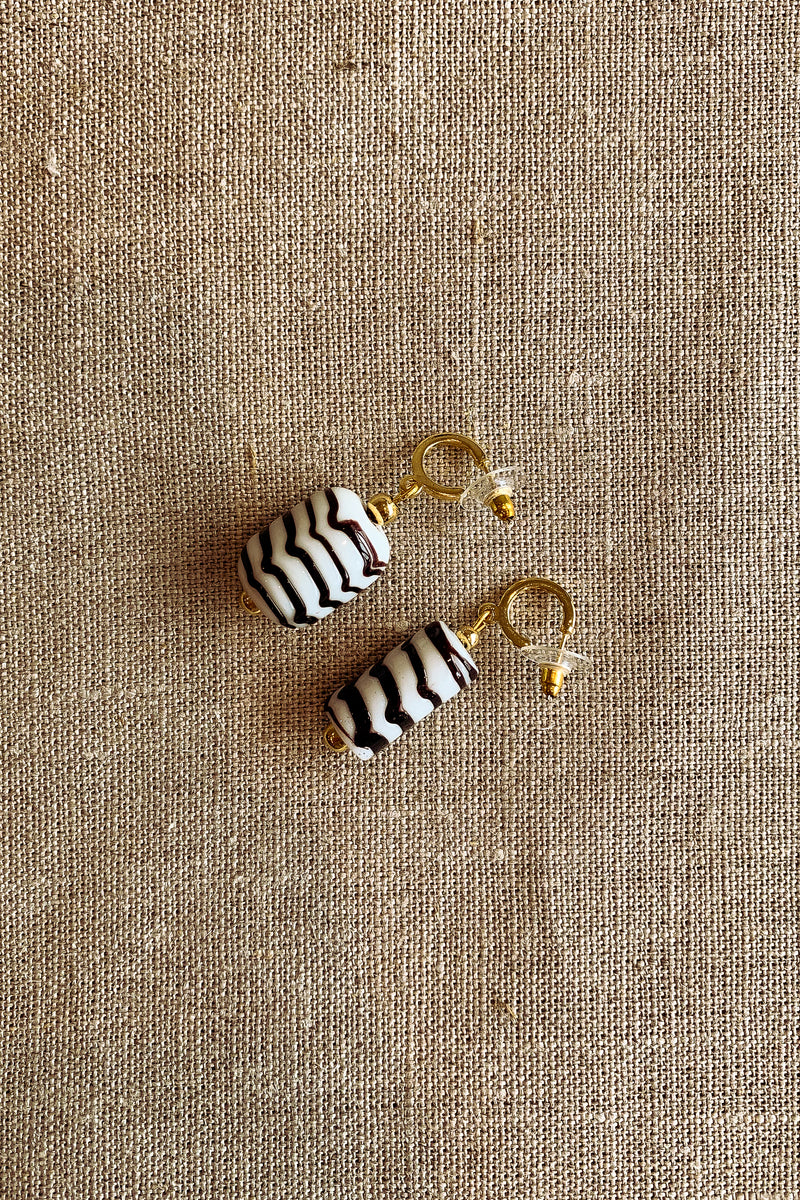 Jacquinii x DODA sundae earrings