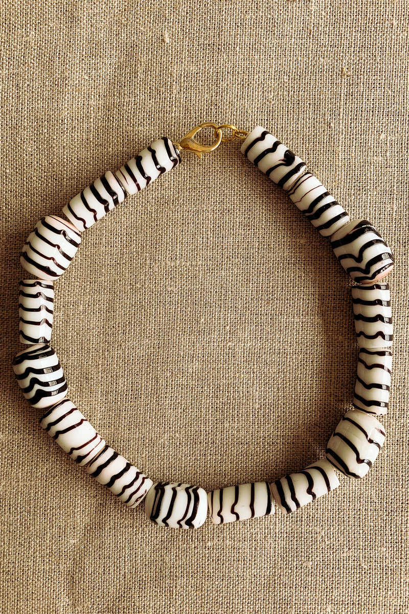 Jacquinii x DODA sundae collar necklace