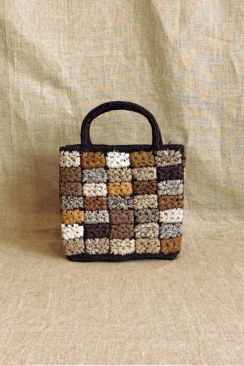 Sophie Digard Patchwork Small Wool Bag