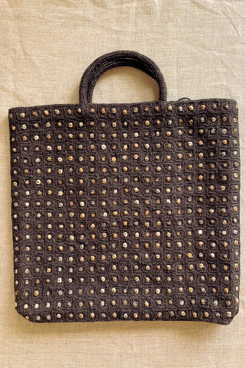 Sophie Digard Wool Detailed Bag