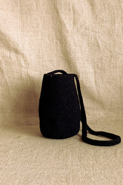 Cecilie Telle Black Pod Bag