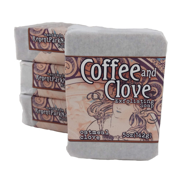 coffee and clove soap all natural