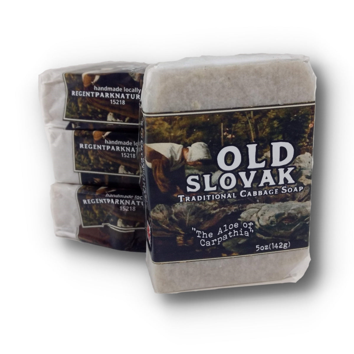 OLD SLOVAK traditional cabbage soap - REGENT PARK NATURALS