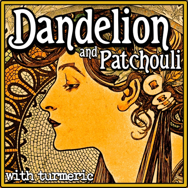 Dandelion Patchouli Soap