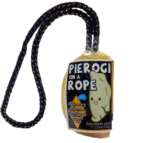 pierogi soap poland pittsburgh black and gold gift steelers