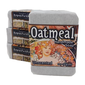 Oatmeal Handmade Soap Bar Unscented