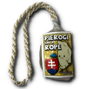 Pierogi Soap on a Rope Slovakian Harvest