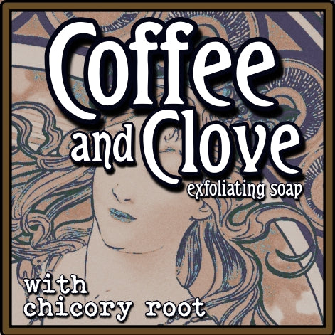 Coffee and Clove Exfoliating Soap