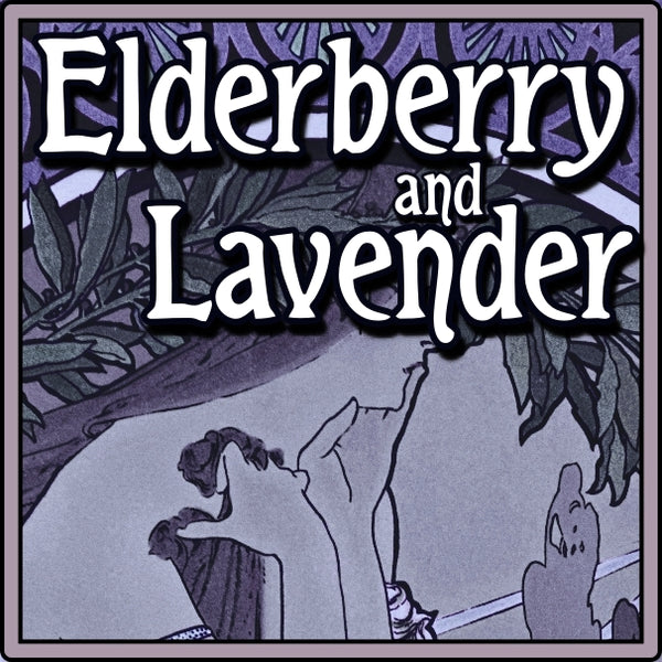 Lavender Soap With Elderberry