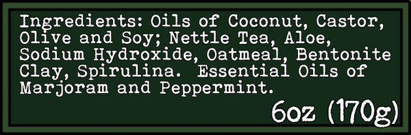 nettle soap ingredients