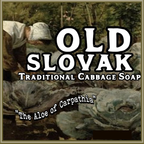 OLD SLOVAK traditional cabbage soap