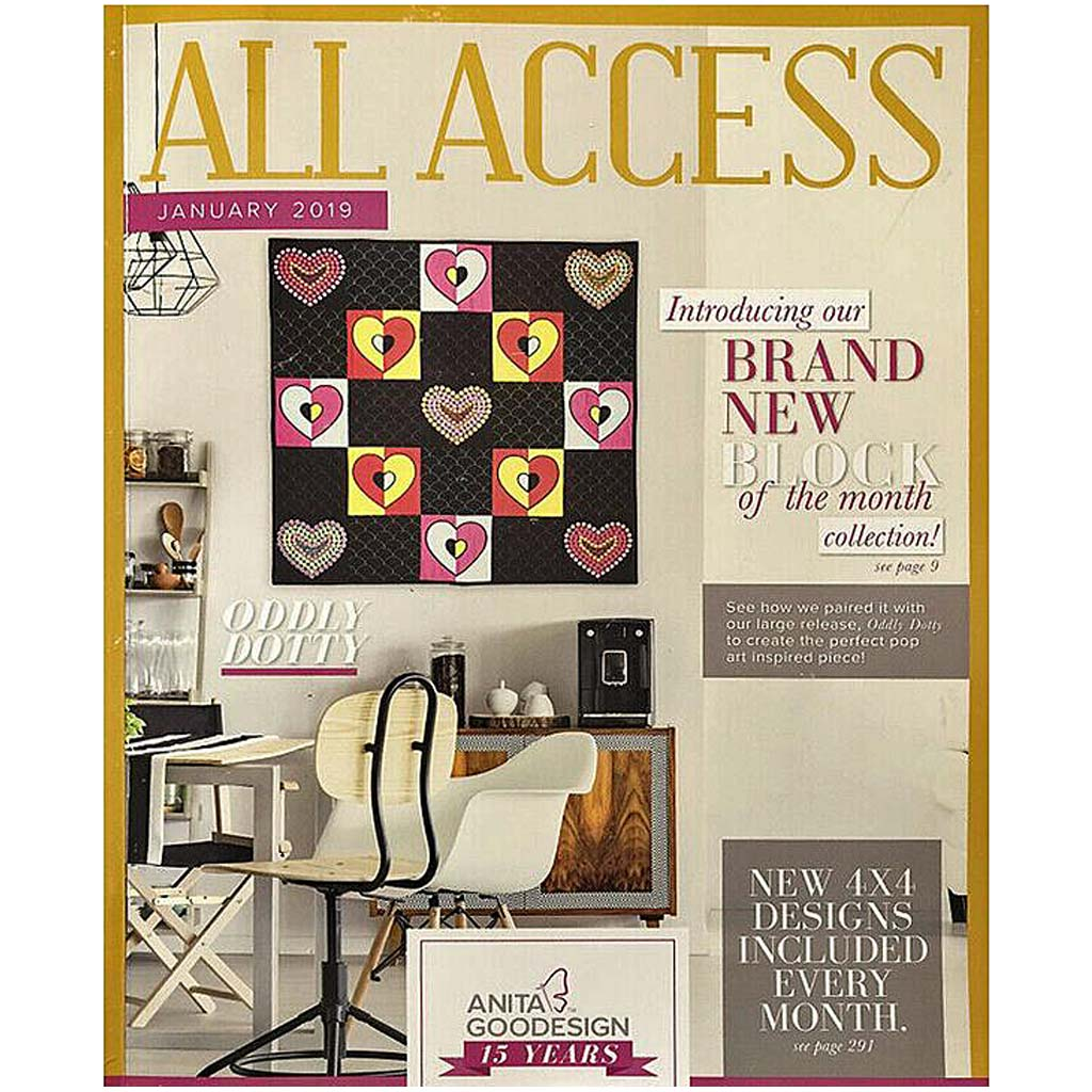 Anita Goodesign All Access Club January 2019 with CD