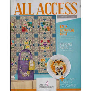 Anita Goodesign All Access Club January 2020 with CD