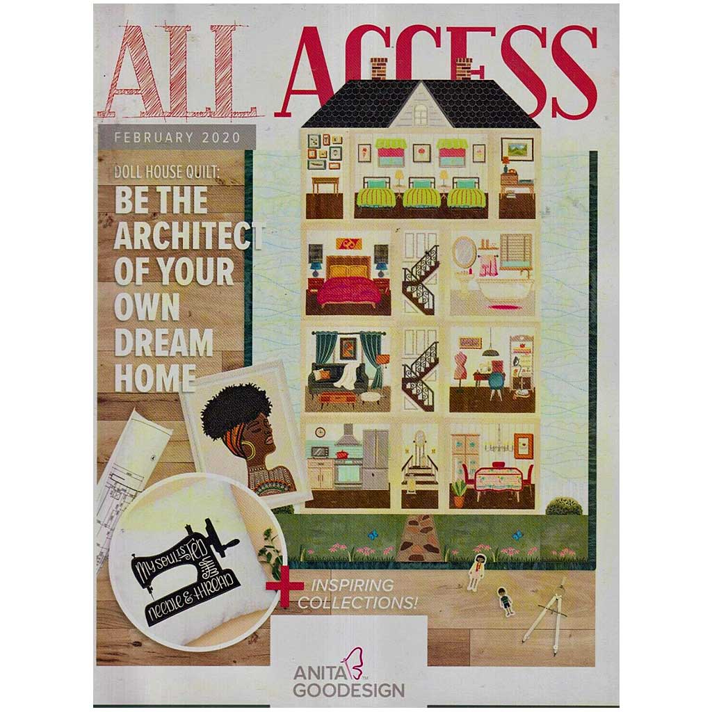Anita Goodesign All Access Club February 2020 with CD