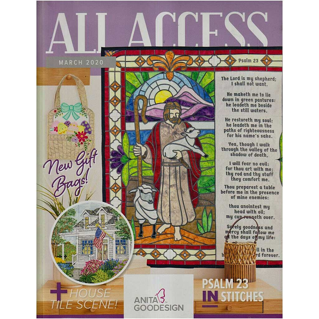Anita Goodesign All Access Club March 2020 with CD