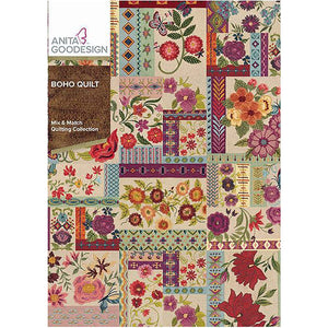 Anita Goodesign Download Collection - Boho Quilt