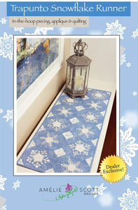 Trapunto Snowflake Table Runner Class with Ollie Gray