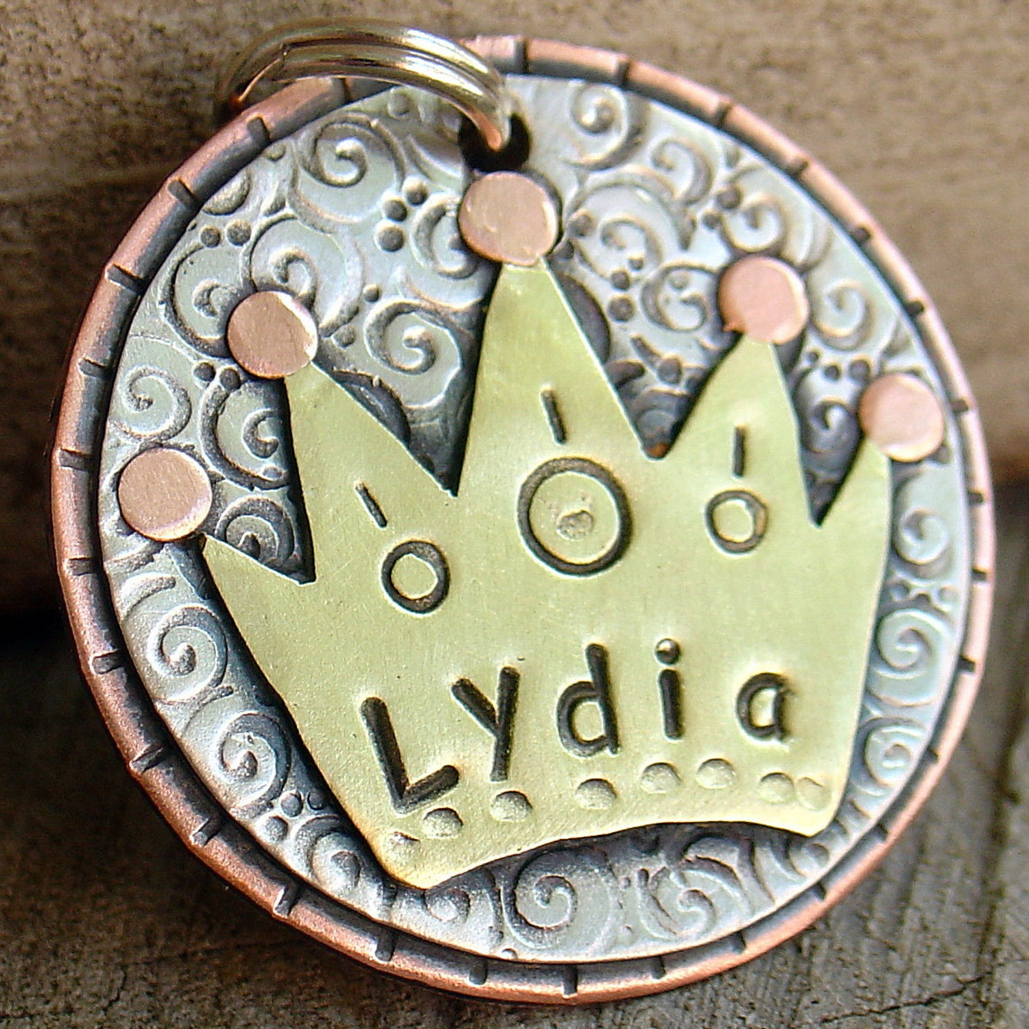 Large Crown Tag