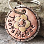 Small Flower Tag