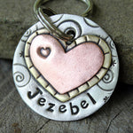 Whimsical Heart Tag