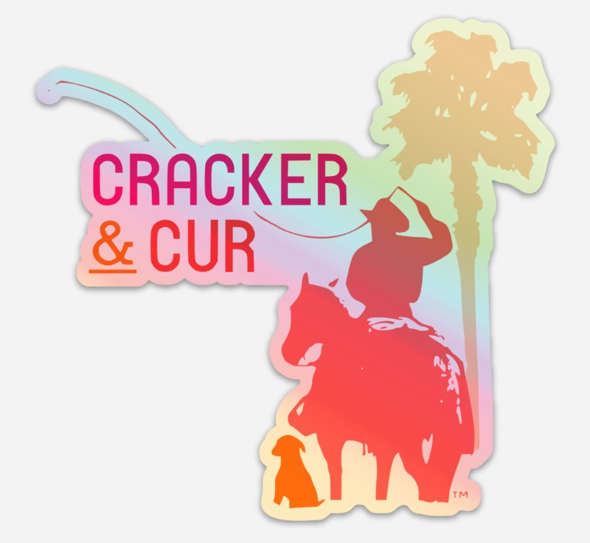 C&C Holographic Sticker