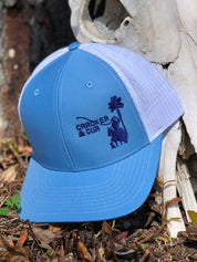 Side Logo Hat - Columbia Blue/Navy