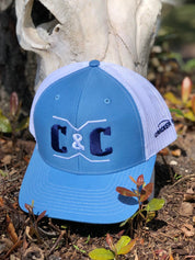 Brand Hat - Columbia Blue