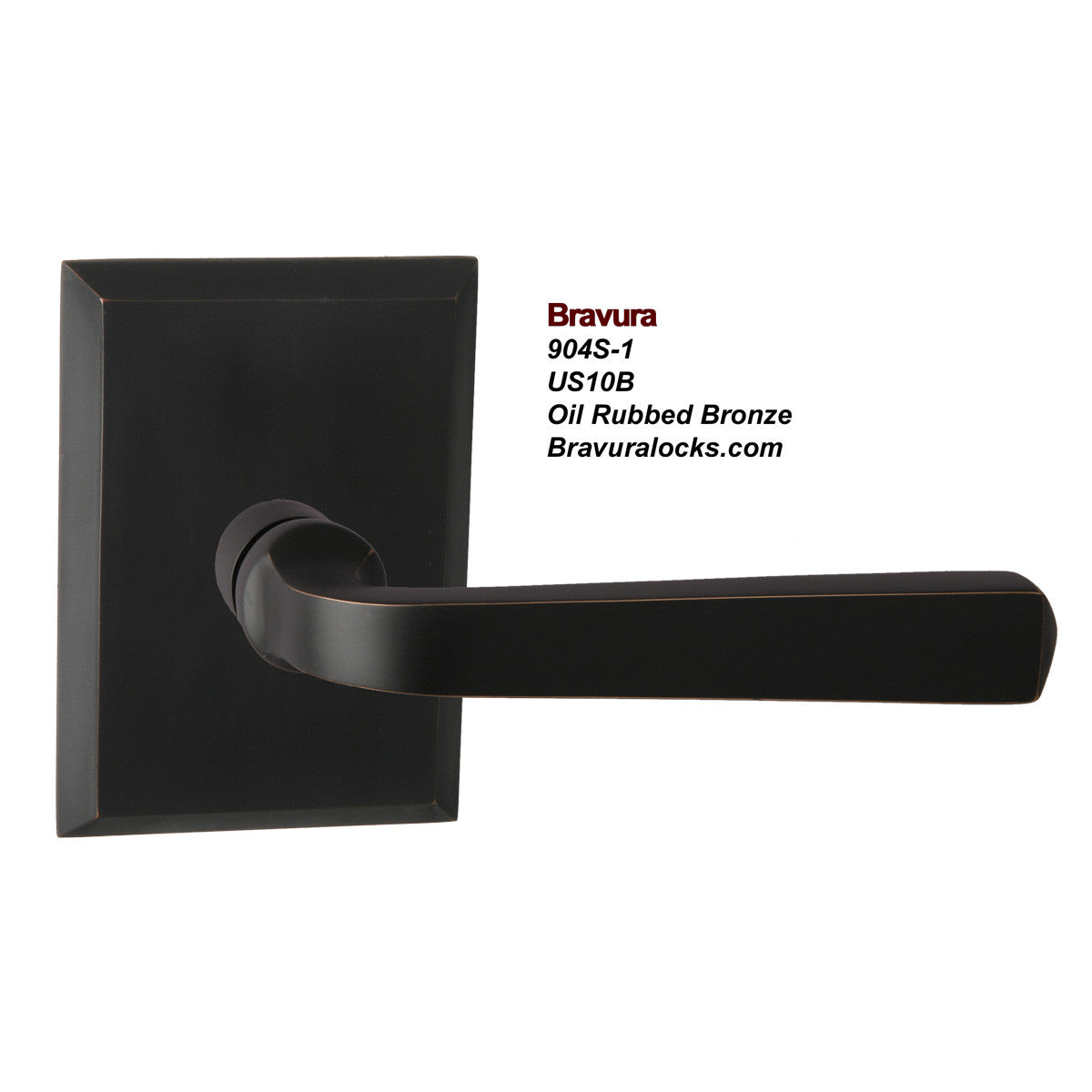Oil rubbed bronze door levers -  Bravura 904s 1 Interior Door Lever Privacy Passage Bedroom Bathroom
