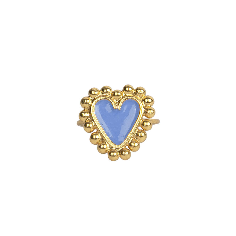 Beating Hearts Mini Ring