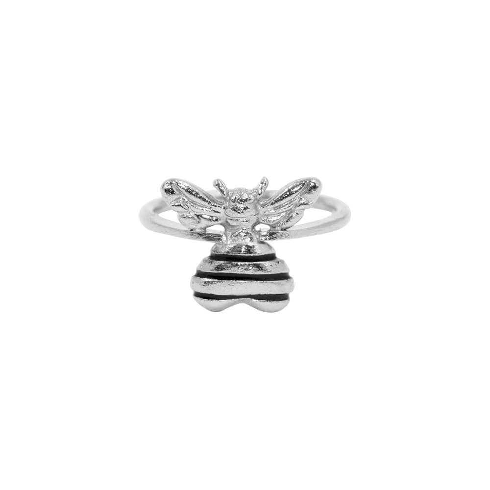 Bee Loved Ring Silver