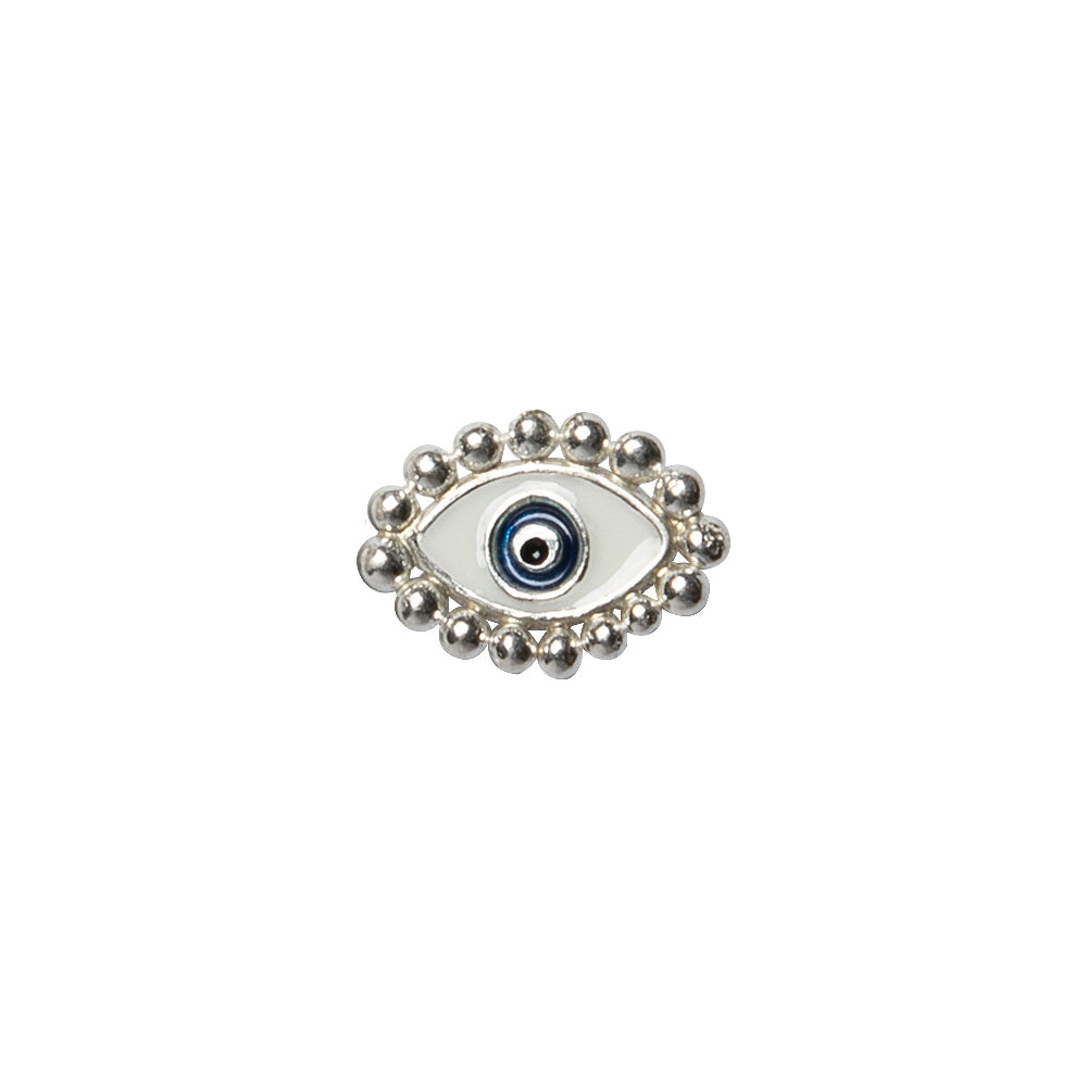 The Third Eye Mini Silver Stud