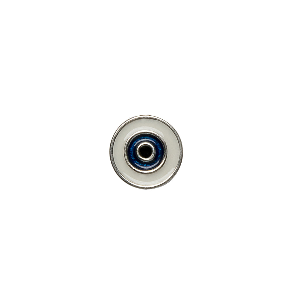 Single Ad-Eye Mini Silver Stud
